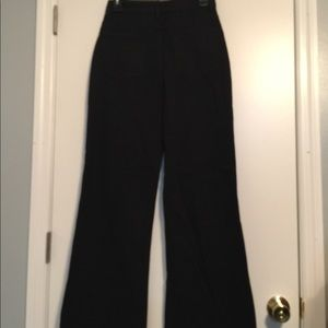 nasty gal Jeans - Nasty Gal 100% cotton black wide leg jean